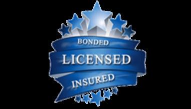 bonded licensed insured